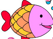 Aquarium Fish Coloring Game