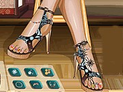 Fabulous Pedicure Game