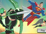 Superman Training Academy HawkGirl Game