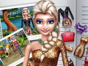 Ice Princess Doll Creator Game
