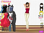 Charming Girl Dressup Game