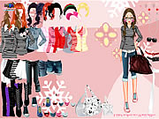 Stripes Dress Up Game