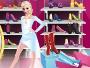 Elsa Shopping Game