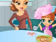 Mother Daughter Cooking Dress Up Game