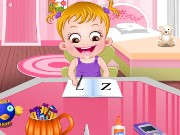 Baby Hazel Pumpkin Party Game