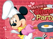 Minnie Dinner Party Game