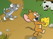 Tom And Jerry In Cheese Chasing Maze Game
