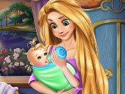Rapunzel Baby Feeding Game