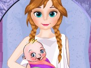 Frozen Anna Birth Game