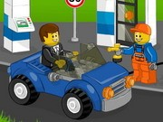 Lego Gas Station Game