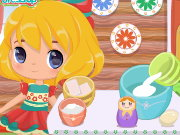 Baby Girl World Wide Cooking Trade Game