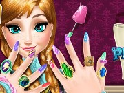 Ice Princess Nails Spa Game