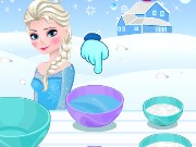 Elsa Frozen Dessert Trifle Game