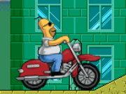homer motorrad spiel