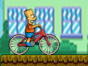 Bart On Bike Game