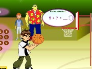 Math Basketball Game