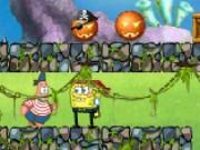 spongebob halloween-tag spiel