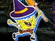 spongebob in halloween spiel