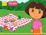 Dora Food Pyramid Game
