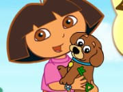 Dora Puppy Adventure Game