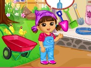 Dora Vegetable Planting Game