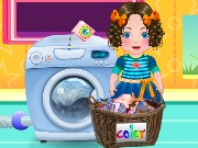 Daria Washing Clothes Game