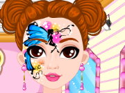 Fashion Doll Facial Painting Game