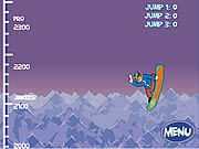 Scooby Doo Big Air Snow Show Game
