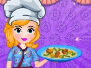 Sofia Cooking Chinese Fried Noodles Game