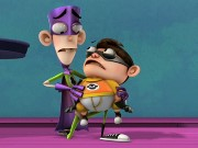 Fanboy and Chum Chum Arcade Raid Game