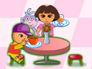Dora Family Restaurant Game