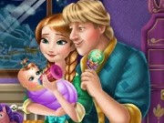 Anna And Kristoff Care Newborn Princess Game