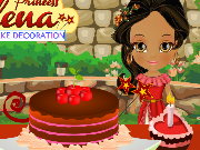 Princess Elena Cake Decoration Game