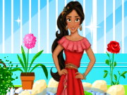 Elena of Avalor Garden Decor Game