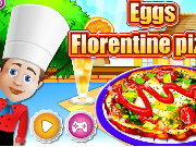 Eggs Florentain Pizza Game