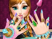 Anna Nails Spa Game