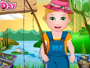 Baby Juliet Fishing Day Game