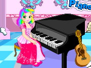 Princess Juliet Piano Lesson Game