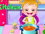 Baby Hazel In Kitchen Game