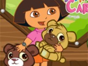 Dora Care Baby Bears Game