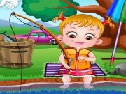 Baby Hazel Fishing Game