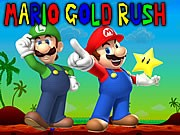 Mario Gold Rush Game