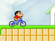 Bike Rider Shin Chan Game