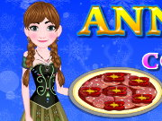 Anna Cooking Muffaletta Pizza Game