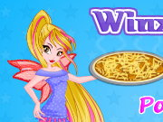 Winx Flora Cooking Poutine Pizza Game
