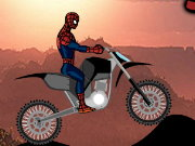Spiderman Bike Course Game