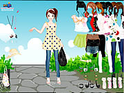 Dots Dress Up Game