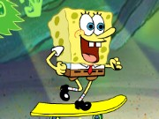 Spongebob Beach Skateboading Game