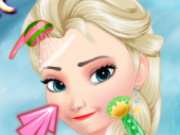 Elsa Winter Makeover Game