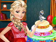 Elsa Frozen Birthday Game